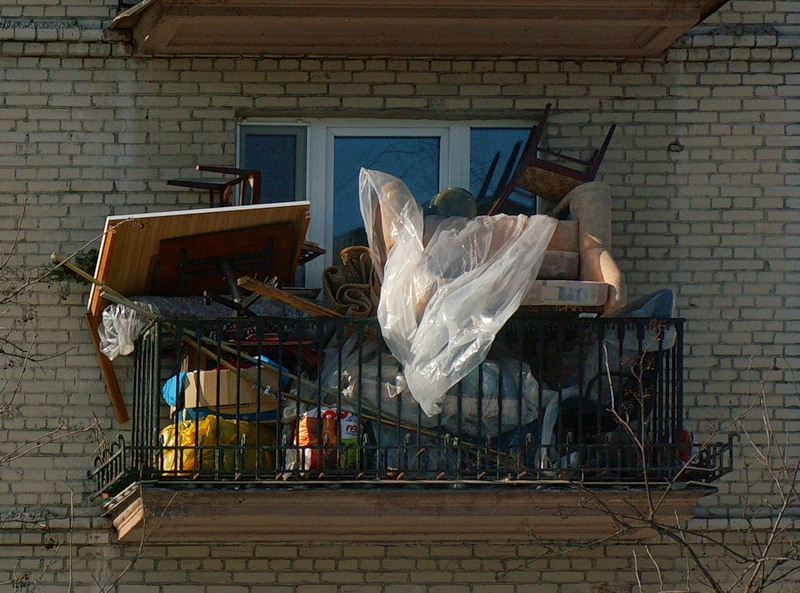 Ortex остекление балкона - первый этап его преображения.